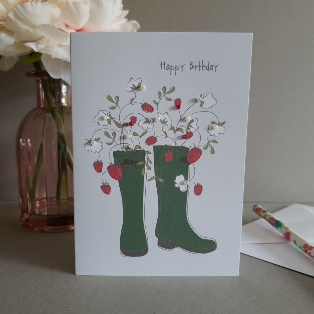 Strawberry Wellies