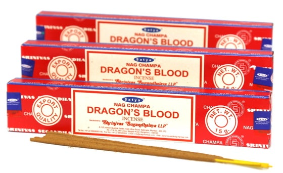 Image of Satya Dragon's Blood Incense Sticks