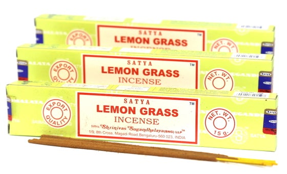 Image of Satya Lemon Grass Incense Sticks