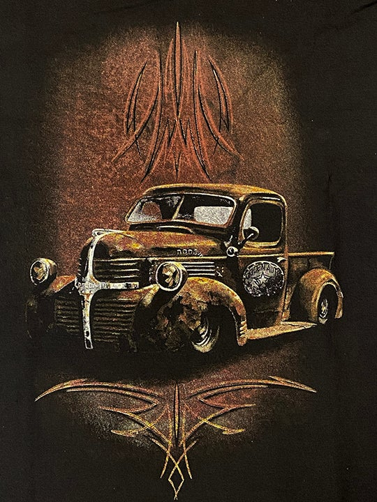 Image of Rusty Dodge Truck Work Shirt