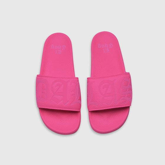 Image of DALLAS COLORBLOCK SLIDES (PREORDER)