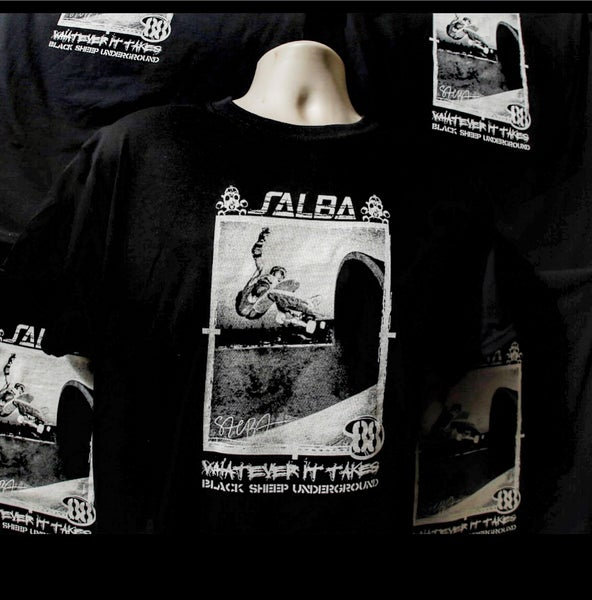 Image of Salba Pro Black ts **NEW**