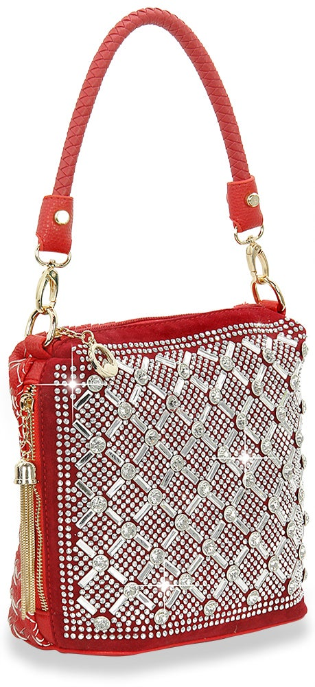 "Image of ""Sparkling"" Woven Purse"