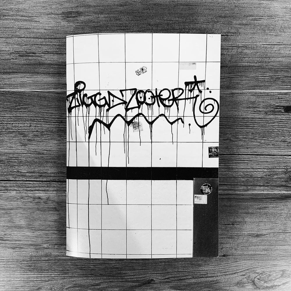 Image of SICK OF BEIN FRESH ZINE.