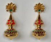Image of Fancy, festive summer earrings