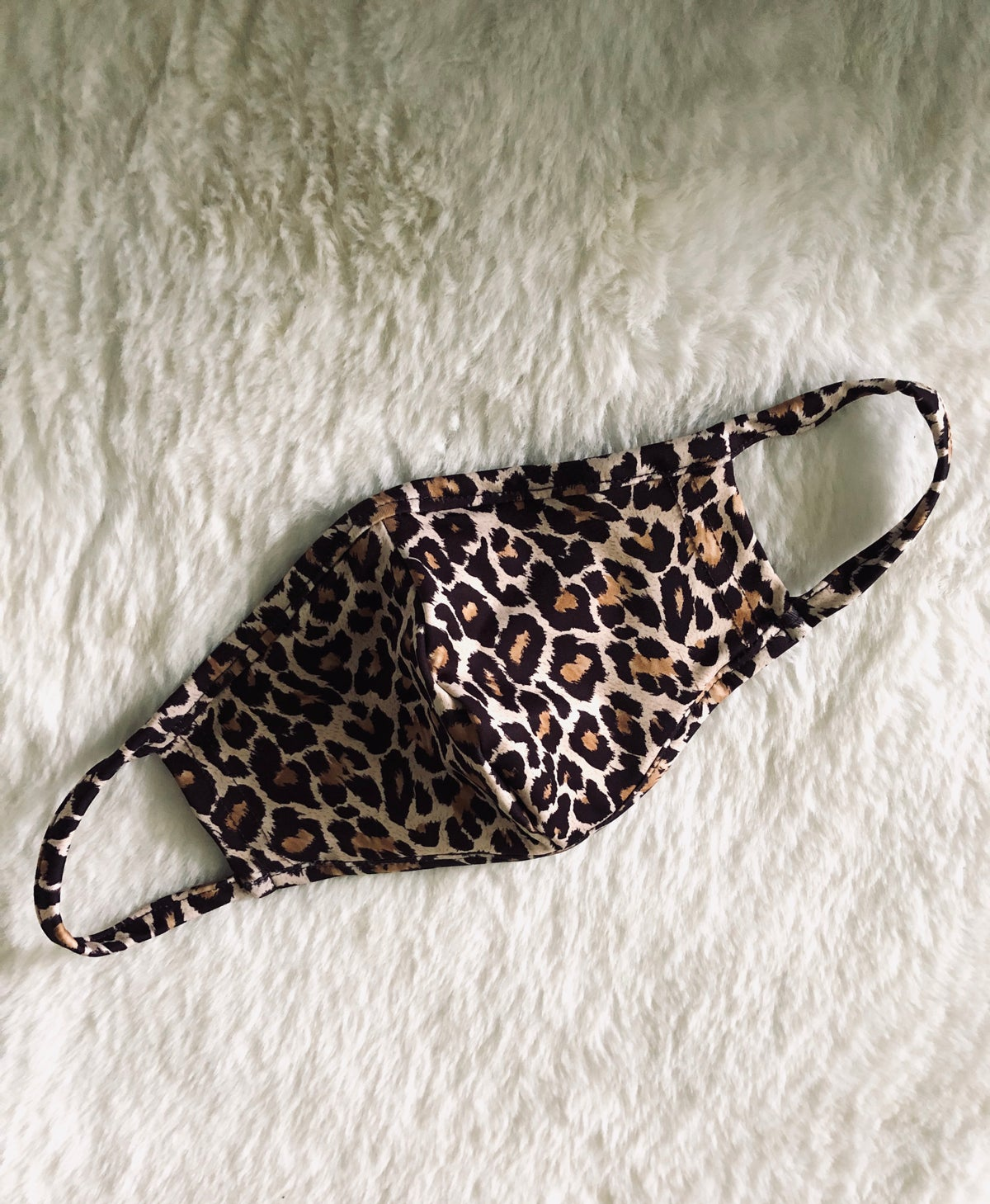 Image of DK FACE MASK BROWN LEOPARD