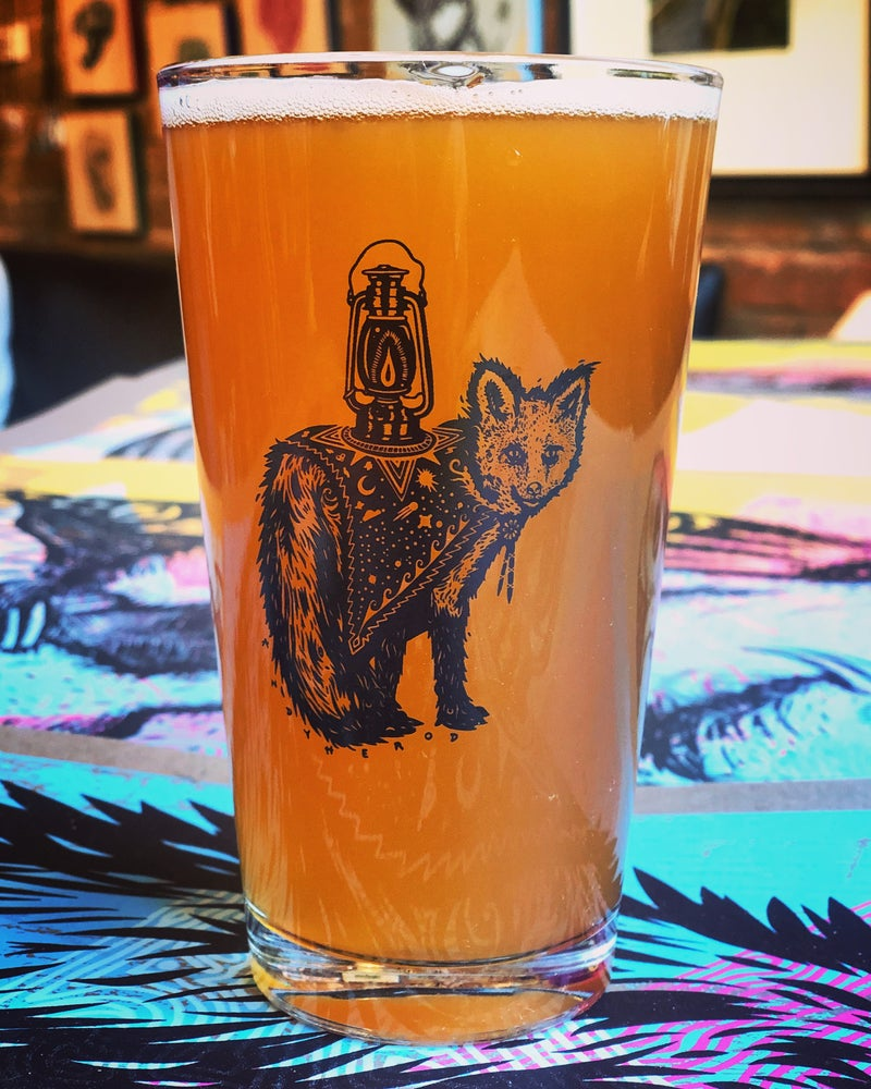 Image of Light the Path Pint Glass from Bad Craft