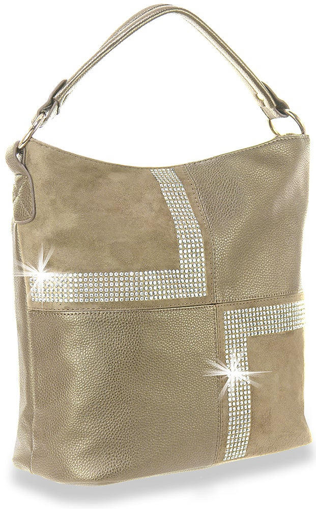 "Image of ""Sparkling"" 4 Square Hobo Purse"
