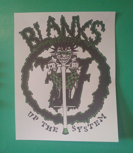 Image of Blanks 77 poster 22x28