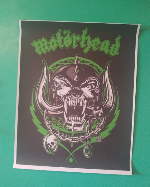Image of Motorhead colored poster 22x28