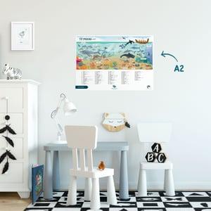 Te Reo Māori - A2 Poster - Ocean