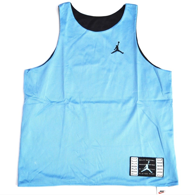 "Image of Vintage 1995 Nike Air Jordan XI ""Columbia"" Jersey Sz.L (Youth)"