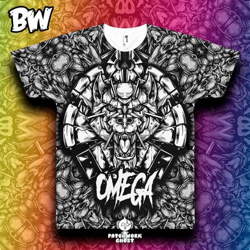 Image of OMEGA All Over Print Shirt