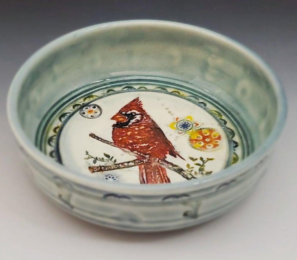 Image of Cardinal Porcelain Dish