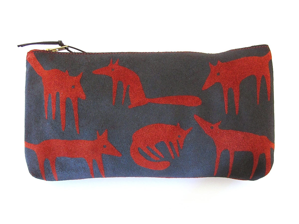Image of Suede Red Fox Purses
