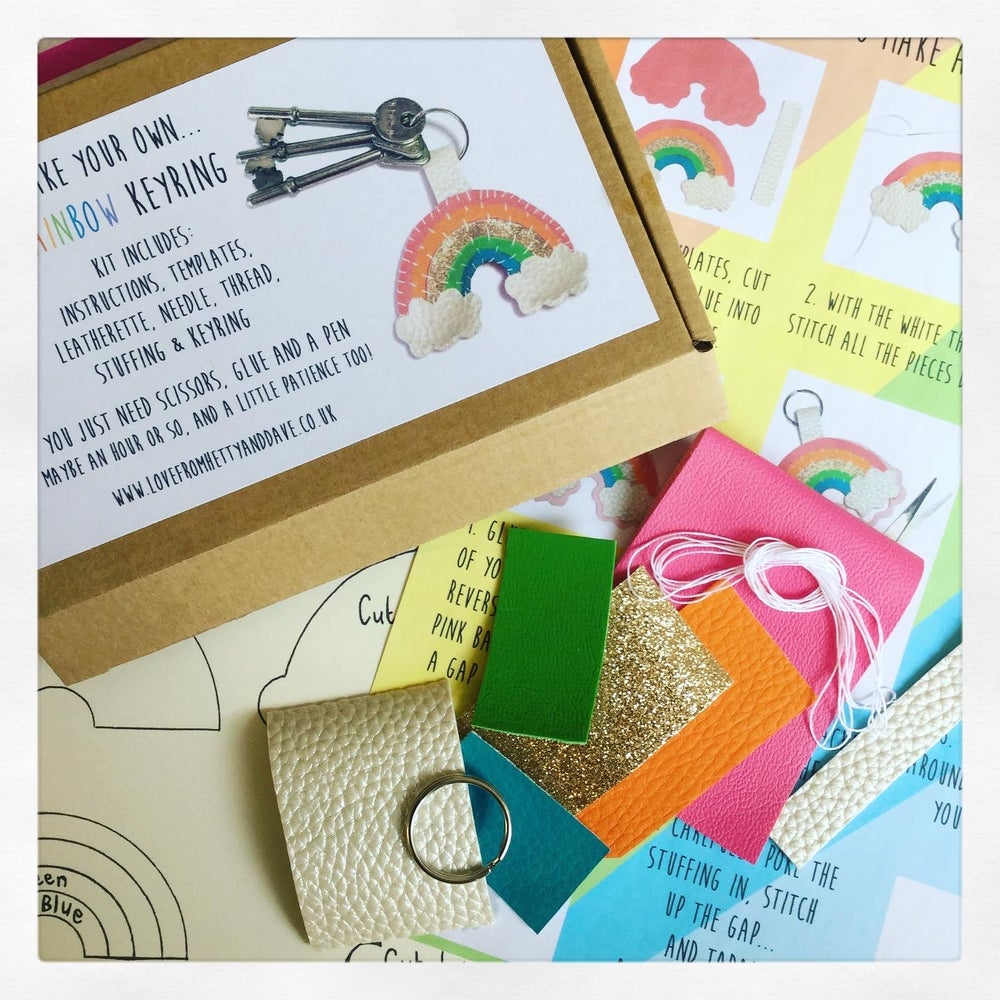 Image of Rainbow Keyring Kit