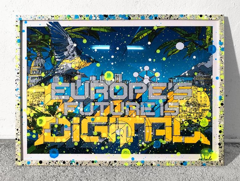 Image of Europe's Future is Digital