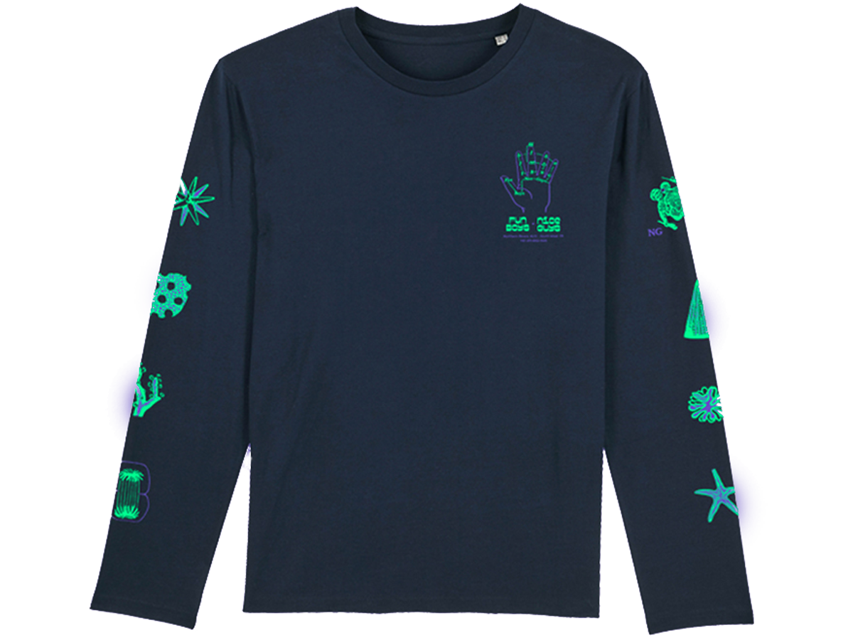 "Image of Fun Boys X Nice Guys Records ""Tea Party"" Long Sleeve"