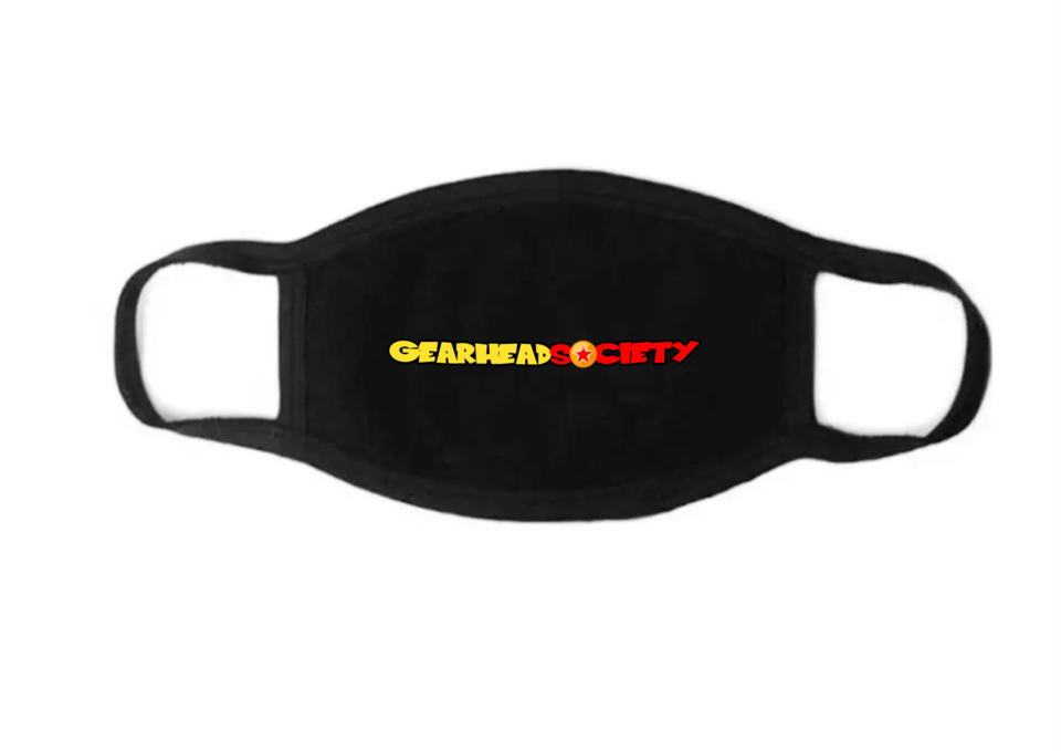 Image of GEARHEAD SOCIETY MASK (double layered)