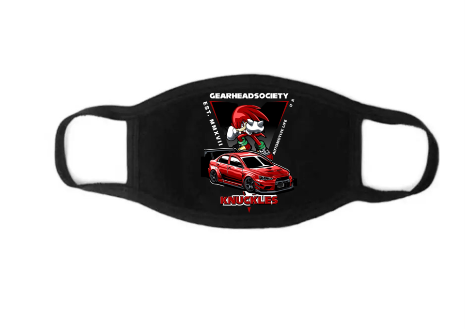 Image of KNUCKLES FACE MASK (double layered)