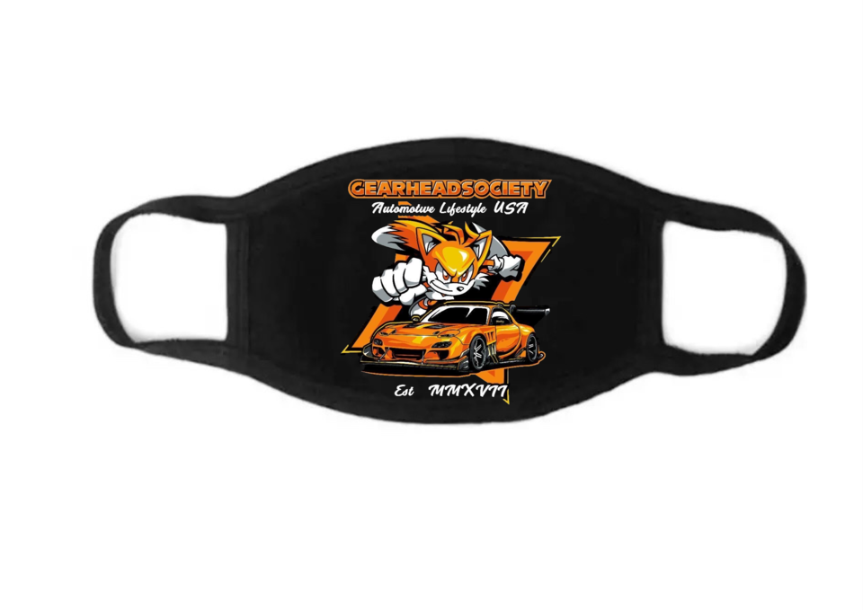 Image of TAILS FACE MASK