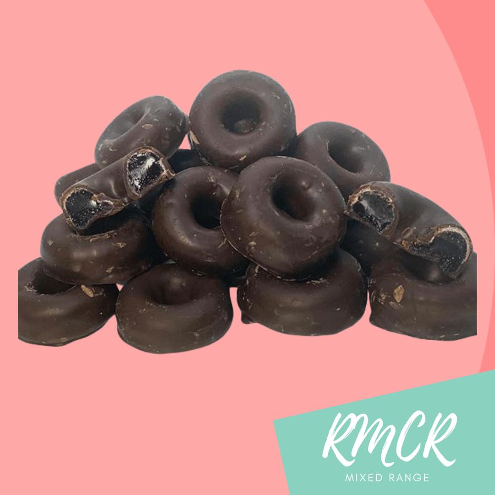 Image of Dark Chocolate Aniseed Rings