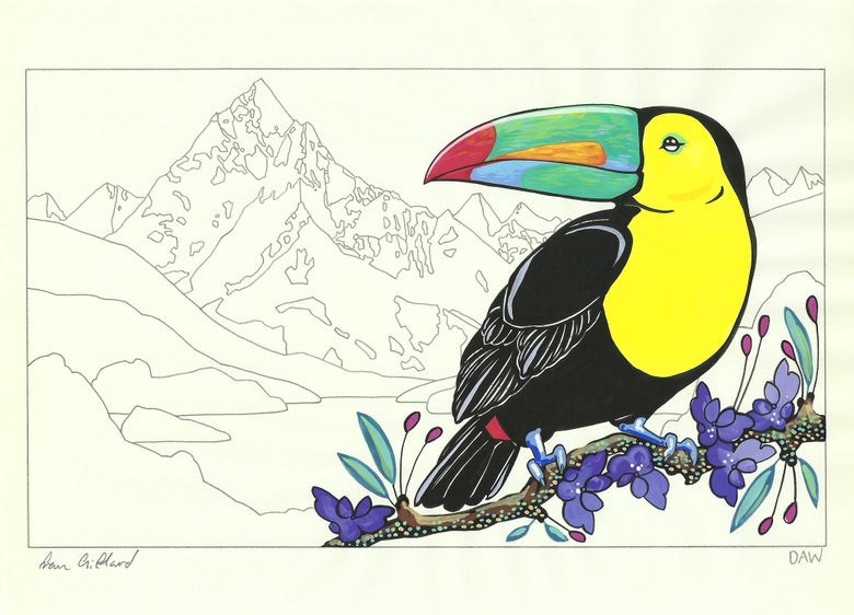 Image of Toco Toucan and Beatrix
