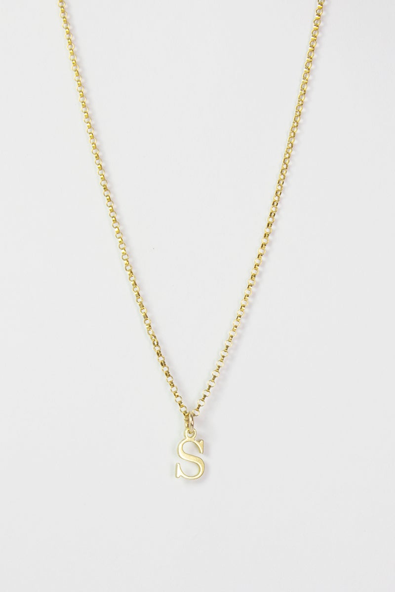 Image of SAY MY NAME Initial Necklace