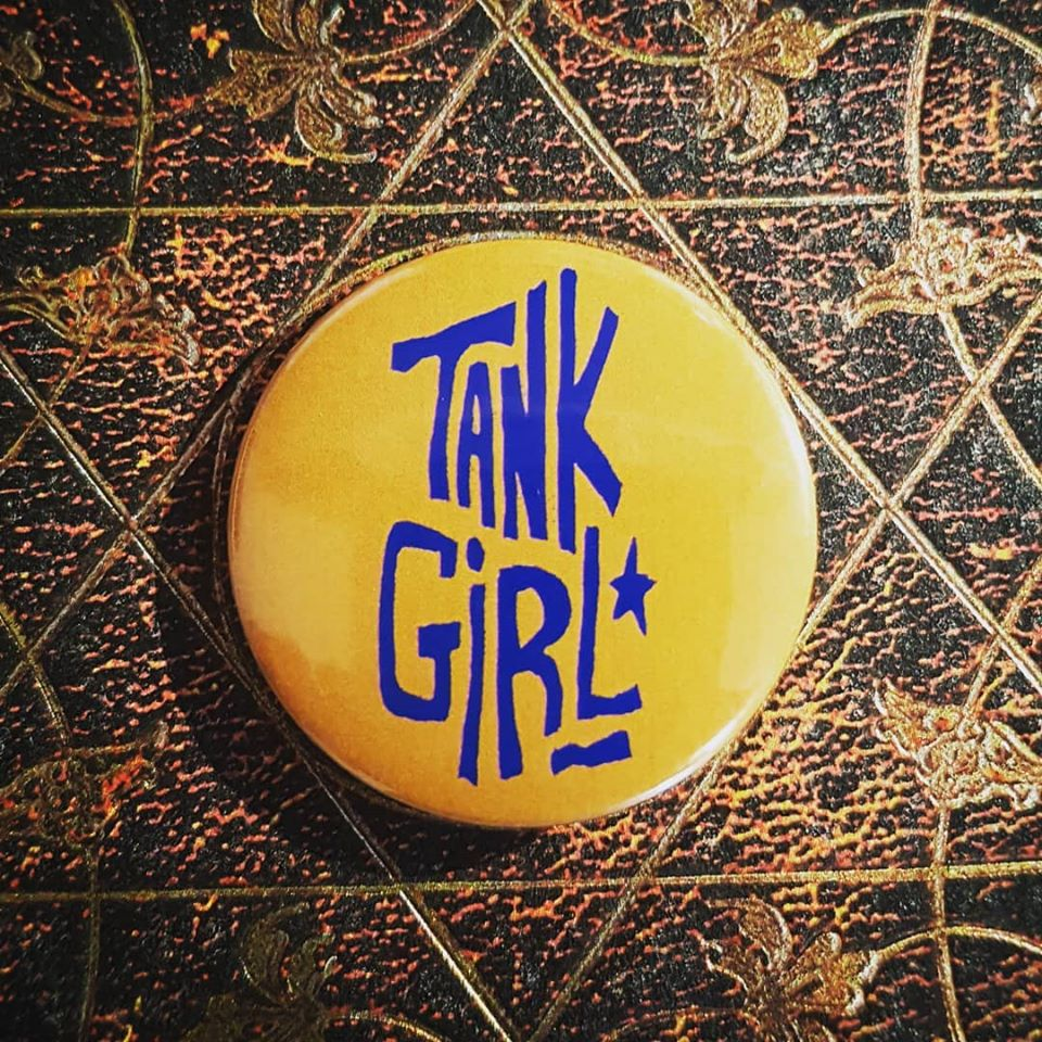 Image of Tank Girl - Deadline #1 Mini Comic - with signed poster, bookmark, and badge