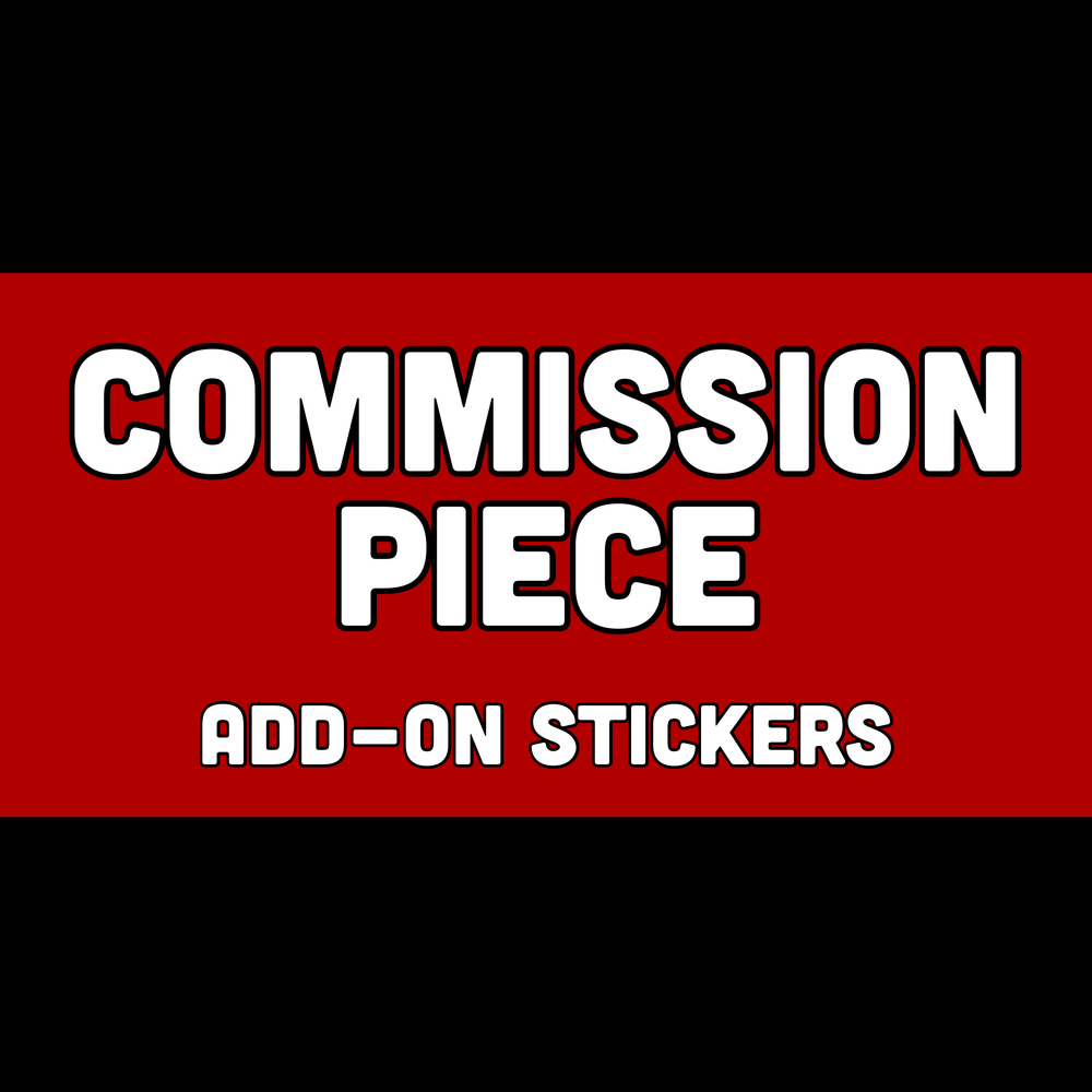 Image of Commission Add-On: Stickers