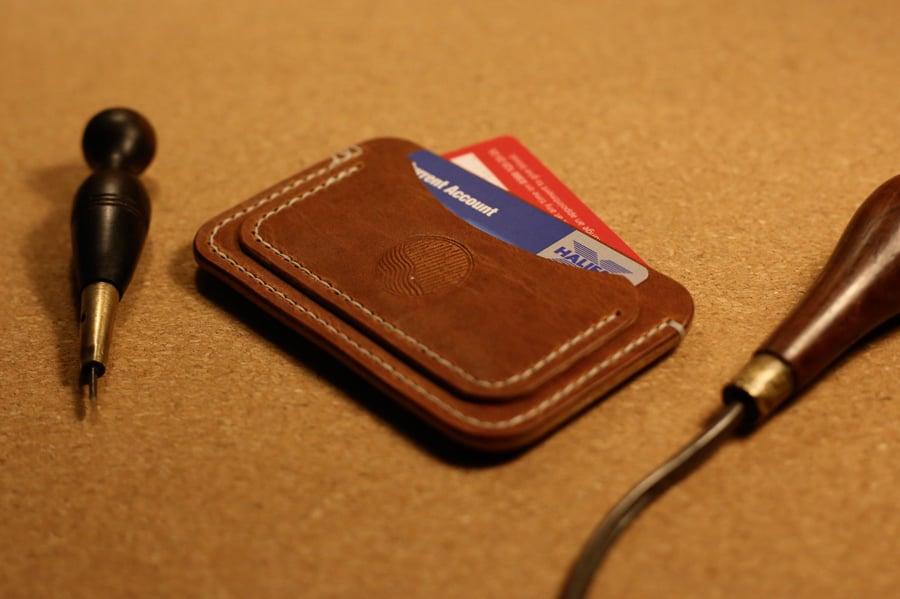 Image of Victor - Three Pocket Flat Wallet in Horween Dublin