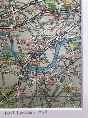 Image of West London c.1930 (Chiswick to Chelsea)