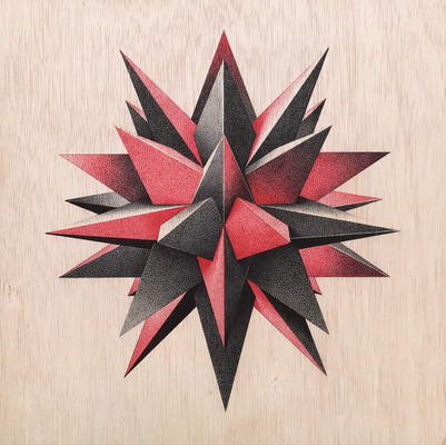 Image of Print   Red Star