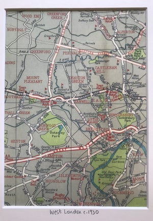 Image of West London c.1930 (Greenford to Ealing)