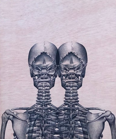 Image of Print   Couple
