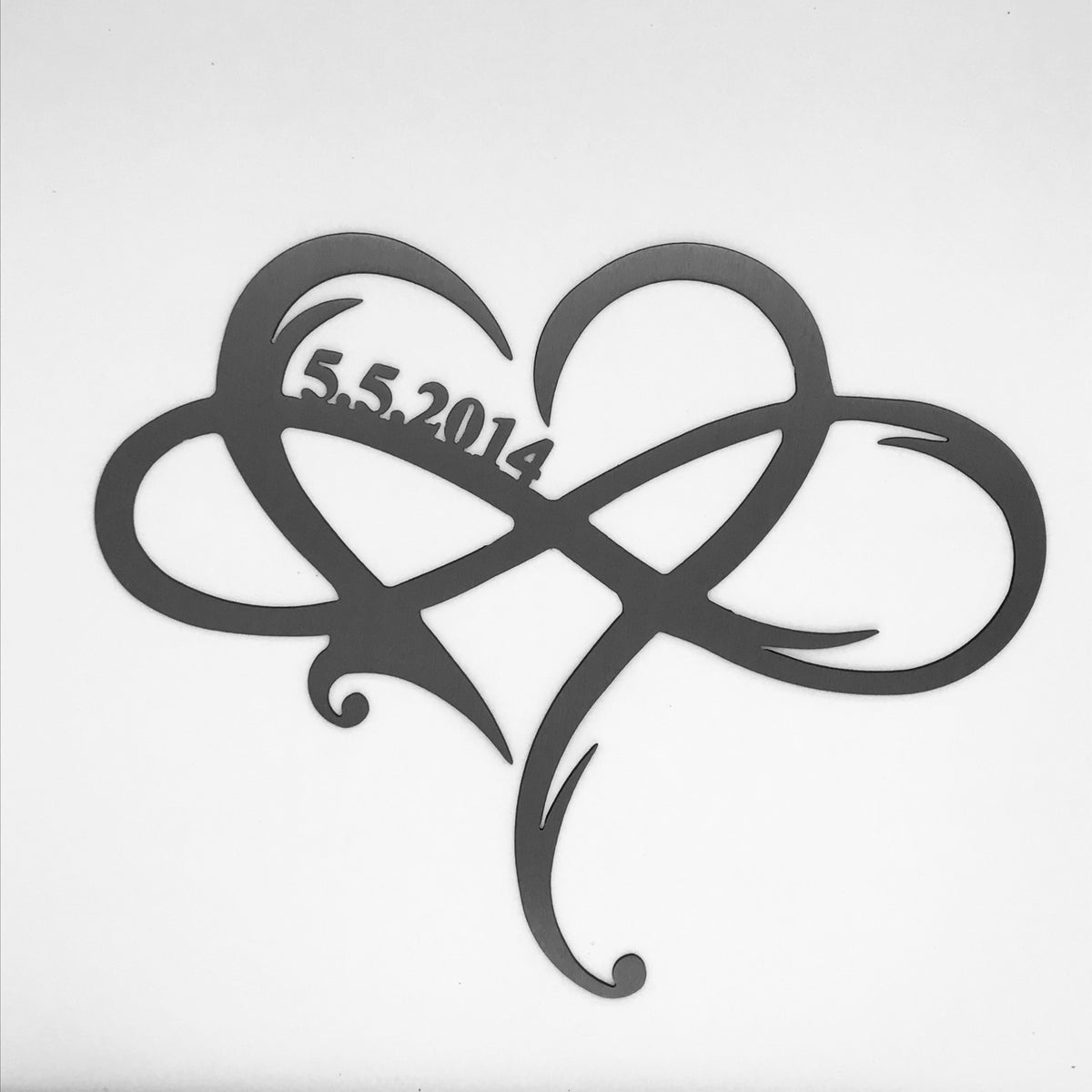 Infinity Heart - Customized -Date