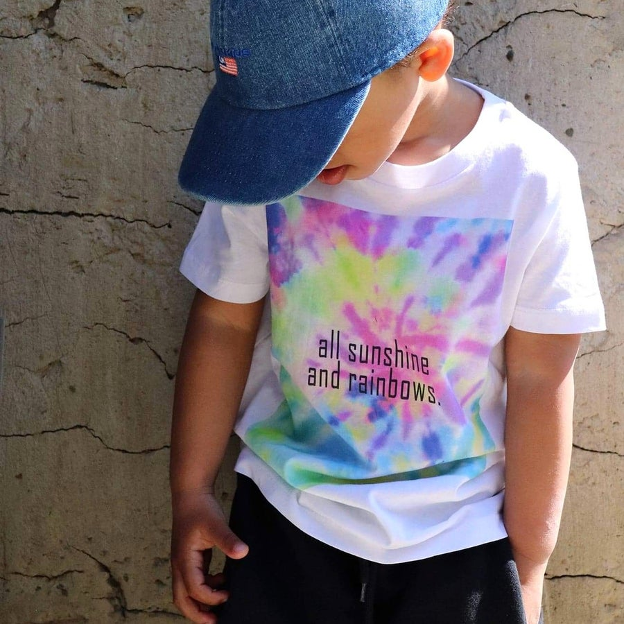 Image of ALL SUNSHINE AND RAINBOWS TEE