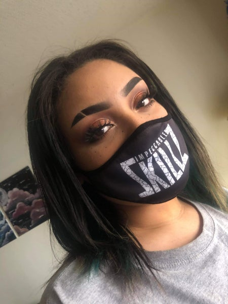 """Image of Impeccable Skillz """"Pandemic"""" Face mask"""