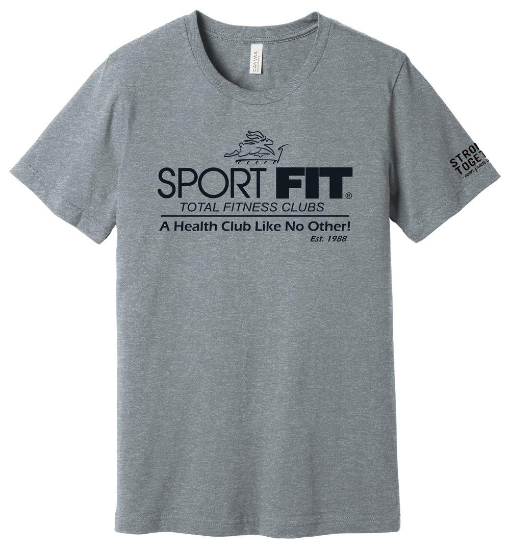 """SportFIT """"Stronger Together"""" Tee"""