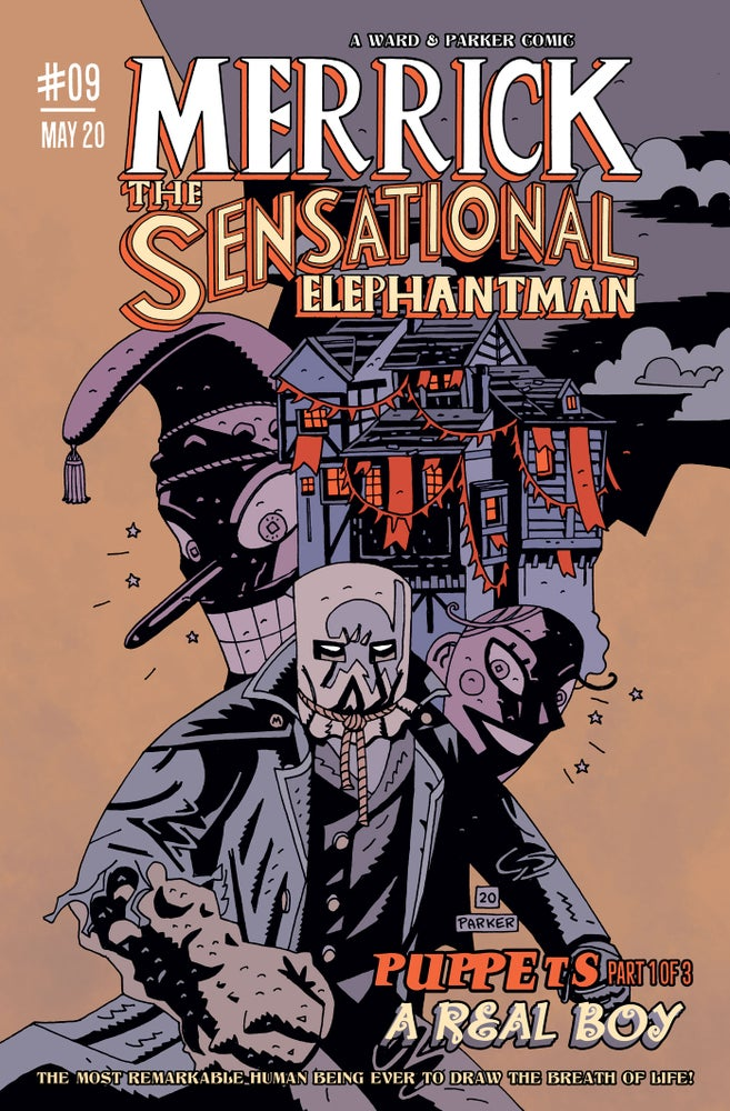 Image of Merrick: The Sensational Elephantman #09