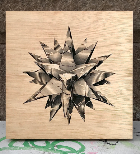 Image of Stellated Chrome #3