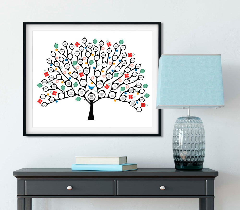 Image of Proud as a Peacock Tree - Brights