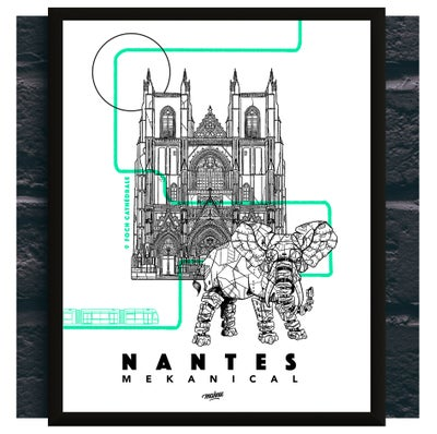 Image of NANTES MEKANICAL ELEPHANT