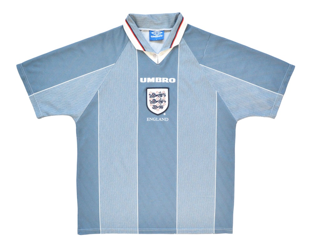 Image of 1996-97 Umbro England Away Shirt L