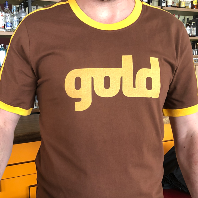 Image of GOLD-Retro-Shirt