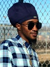 Jah Roots Stretch Hats (Navy)