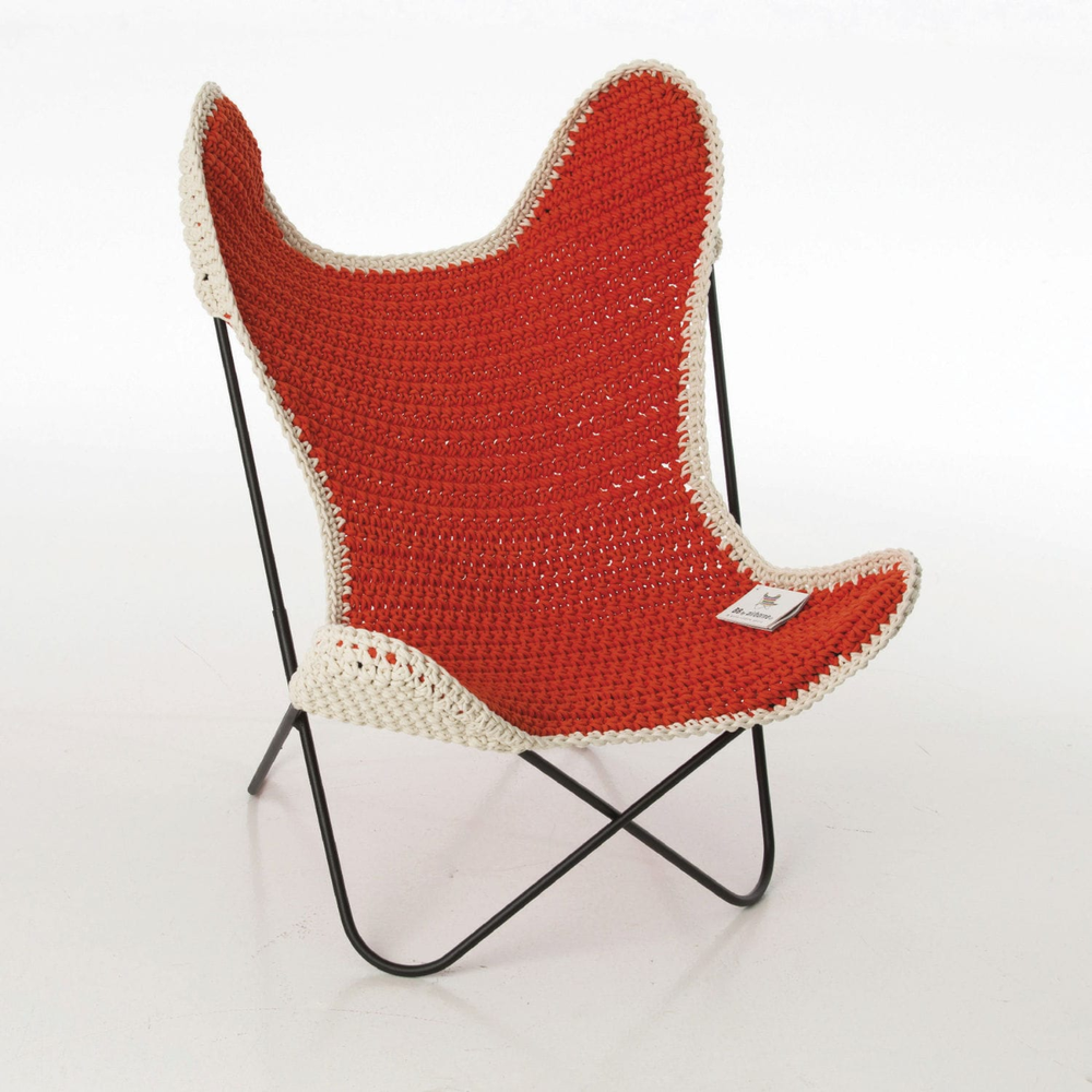Image of Anne Claire Petite Crocheted Kids Chair
