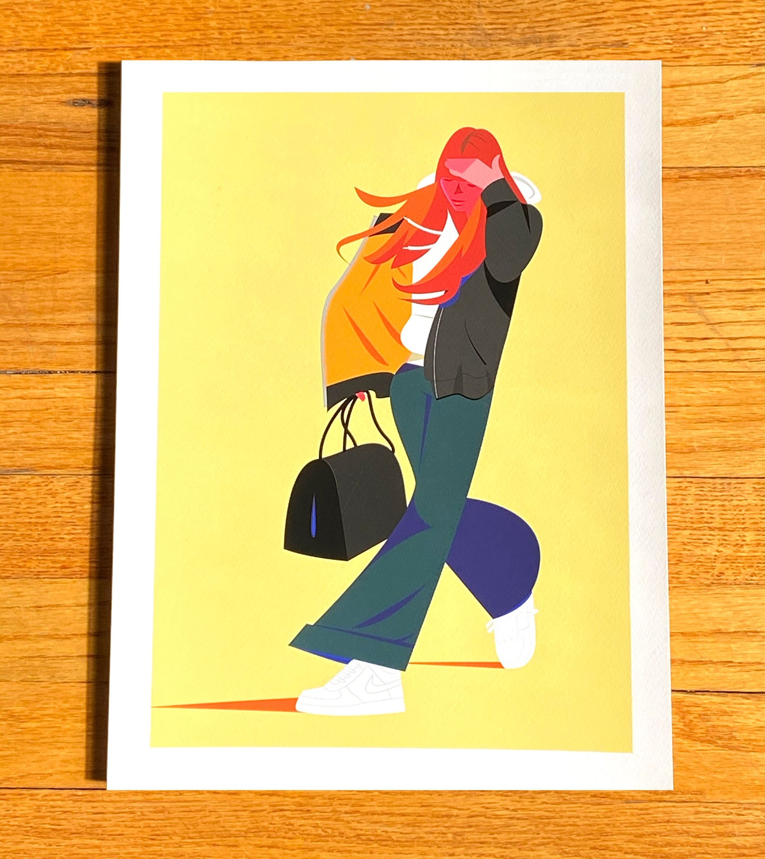 Windy Cindy Limited Edition Giclee Print