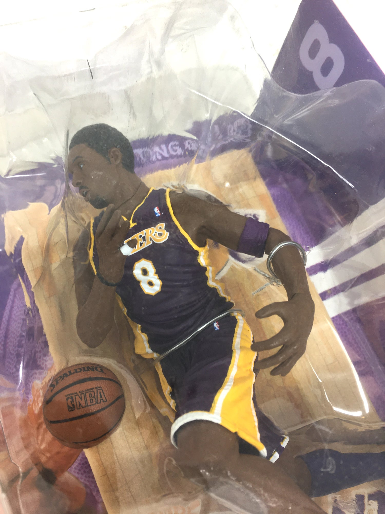 Image of McFarlane's NBA Series LA Lakers Kobe Bryant #8