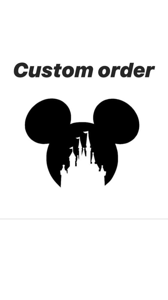 Image of Single custom order request